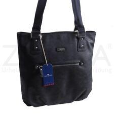 7225089df117f Tom Tailor - schöne Damen Schultertasche Handtasche Shopper - Blau