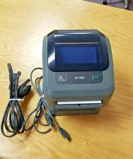 Zebra ZP450 Thermal Label Printer USB/Ethernet Power Cord Great Condition UPS