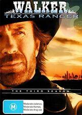 WALKER TEXAS RANGER : SEASON 3 - DVD - GB Compatible & Scellé