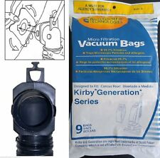 Kirby Generation 1,2,3,4,5,6 and Ultimate G Allergen Filtration Bags PKG of 9