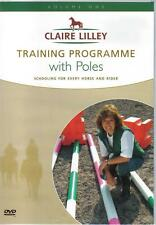 NEW DVD Equestrian Training WITH POLES CLAIRE LILLEY
