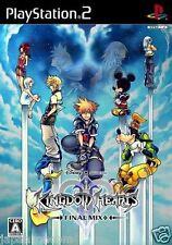 Used PS2 Kingdom Hearts II Final Mix + SONY PLAYSTATION 2 JAPAN