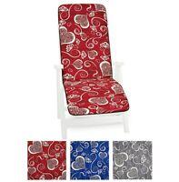 Cuscino sdraio copri sedia morbido poltrona pieghevole poggia piedi lettino
