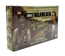 2018 Topps The Walking Dead Road to Alexandria Trading Cards SEALED Hobby Box