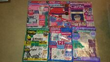 Six paper crafts magazines new and sealed Papercrafter