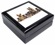 German Shepherd Dogs Keepsake/Jewellery Box Christmas Gift, AD-GS10JB