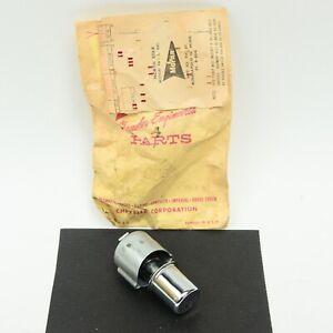 55 1955 Dodge Plymouth Outside Door Handle Button & Spring Mopar 1681862 NOS