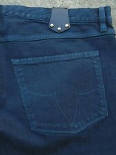 NWOT Authentic Louis Vuitton Raw denim dark straight jeans mens sz FR 50 US 38