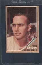 1962 Topps #026 Chris Cannizzaro Mets VG/EX *800