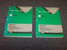 1997 Chevy Geo Metro Workshop Shop Service Repair Manual Book Set LSi 1.0L 1.3L