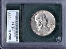 Franklin Half Dollars  1962D