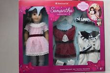 NEW AMERICAN GIRL Doll Samantha Special Edition Holiday Set SAME DAY FREE SHIP