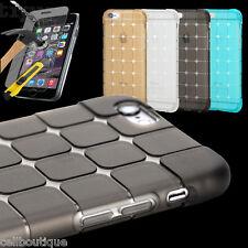 Caso para Apple iPhone 4s 5s 6s se 5c 7 Plus Ultra Delgado Cubierta Protectora de Vidrio Templado