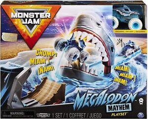 Monster Jam 1:64 Megalodon Mayhem Playset