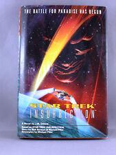 Star Trek Insurrection by J. M. Dillard - Pre Owned Hardcover