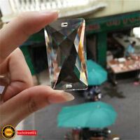 Clear Crystal Chandelier Lamp Part Drop Prism Rainbow Suncatcher Pendant 50mm