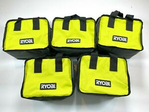 "LOT OF 5 Ryobi Tool Bag 10""x8""x6"" Case For Tools, Crafts, General Tote Bag NEW"
