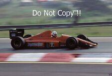 Gregor Foitek EuroBrun ER189 Hungarian Grand Prix 1989 Photograph