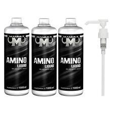 10€/L ++ Mammut Aminoliquid Amino liquid  (3 x 1 Liter) + BONUS Dosierpumpe