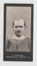 F & J Smith - Footballers (Cup Tie) 1909 - 48 H Burgess, Manchester United