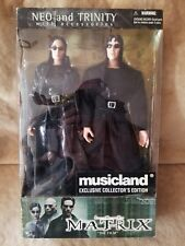 """Musicland The Matrix - Neo and Trinity Exclusive Collectors Edition 12"""" Figures"""