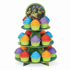 Ninja Teenage Muntant Turtles Cupcake Treat Stand Birthday Party Baking