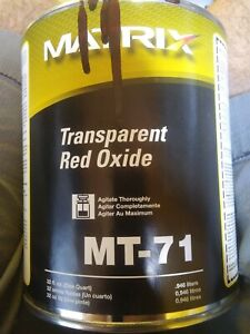 Matrix Toner MT-71 Transparent Red Oxide