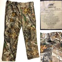 APX L3 Thunder RealTree Camo Fleece Hunting Pants Russell Outdoors Men's 2XL