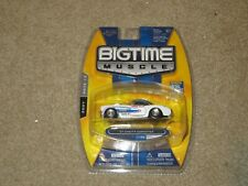Jada Toys Big Time Muscle 1957 57 Chevy Corvette Real Deal White 1:64 MOC 2007