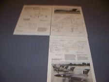 VINTAGE..GLOSTER JAVELIN F MK.I...3-VIEWS/DETAILS/WEAPONS..RARE! (950G)