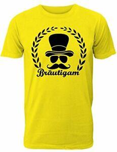 Herren T-Shirt für Den Junggesellenabschied mit Motiv Bräutigam / Team Bräutigam