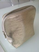 Gold cosmetic bag New from David Jones ideal for Christmas