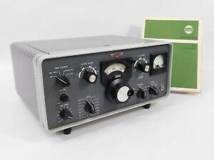 Collins 32S-3 Vintage Ham Radio Transmitter + Manual (great cosmetics, 12269)
