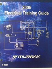Murray 2005 Electrical Training Mower Lawn Garden Tractor Service Guide Manual