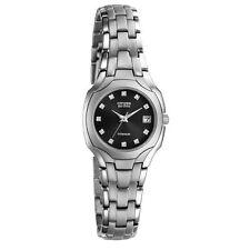 Citizen Stainless Steel Case Quartz (Solar Powered) Watches