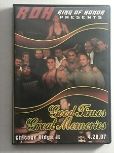 ROH Good Times Great Memories DVD Ring of Honor Wrestling (4.28.07)