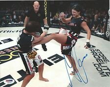 Gina Carano Signed UFC 8x10 Photo PSA/DNA COA Auto'd Picture StrikeForce EliteXC