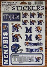 18 University of Memphis Tigers College Decal Stickers College decor craft