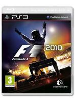 F1 2010 (Sony PlayStation 3, 2010)