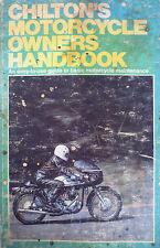 CHILTON'S MOTORCYCLE OWNERS HANDBOOK NORTON YAMAHA DT360 DT1 650 TRIUMPH TR6