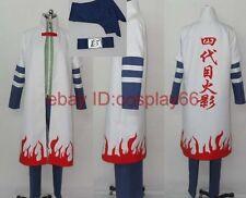 japan anime Naruto Yondaime Hokage Namikaze Minato 2 Ⅱ Cosplay Costume any size