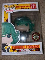 Funko Pop One Punch Man Terrible Tornado Chase Edition GITD Glow In the Dark NEW