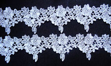 lace trim, Venise 2  inch wide  ivory color selling by the yard