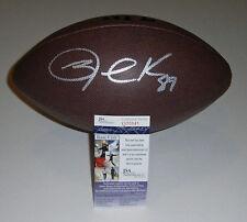 SAINTS Jared Cook signed football w/ #89 AUTO JSA COA Autographed New Orleans