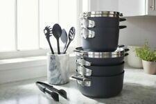 Calphalon Space Saving Hard-Anodized Nonstick 14pc Cookware & Utensil Set