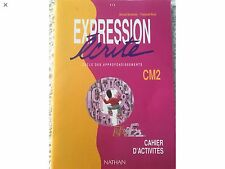 LIVRES DE FRANÇAIS CM2: ATOUTS LECTURE RETZ & EXPRESSION ÉCRITE CAHIER ACTIVITÉs