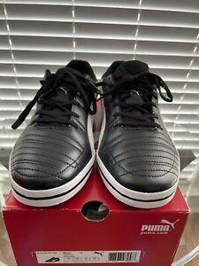 Puma Momentta Vulc Sala Black / White / Gray Low Shoe Mens US 12
