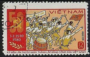 VIETNAM 1980 Soviet-Nghe Tinh Mov. Vietnamese Communist Party /Mi:VN 1086/ STAMP