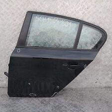 BMW SERIE 1 e87 e87n door Posteriore Sinistro N/S Schwarz 2 Black II - 668