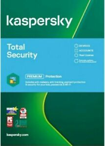 KASPERSKY TOTAL SECURITY 2021 MULTI-DEVICE 3 USER / 2 YEAR | MULTI LANGUAGES